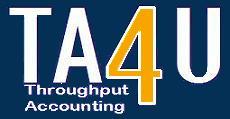 Throughput Accounting 4U Discussion Group on Linkedin TA4U logo